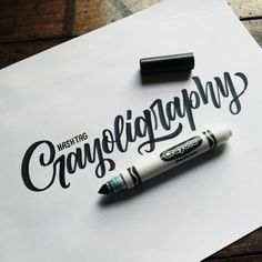 Quick and beautiful calligraphy skill with basic tools.