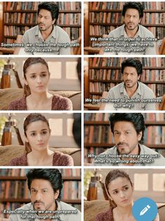 Best dialogue in dear zindagi