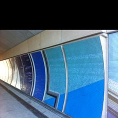 Chicago Public Art Group (Previous Taproot Grantee) + After School Matters tile mosaic at underpass to lakefront.