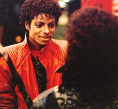 Michael Jackson w/Ola Ray