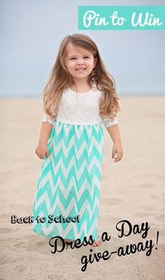 You don't want to miss this Back to School Giveaway! Win 5 dresses for your Little from Be Inspired Boutique! Follow these easy rules to enter: Follow us on Pinterest and re-pin this pin on any of your boards. Contest ends Friday 8/22 at noon EST. Winner will be messaged via Pinterest so stay tuned!