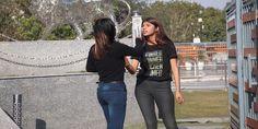 209. Two Desi Girls Fighting In The Park Hair Lengthening, Girl Back, Girl Fights, Bodysuit Fashion, College Girls, Indian Beauty, Lesbian, Desi, Park