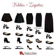 Consejos para combinar faldas con zapatos — Project Glam