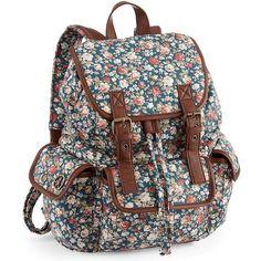 Olsenboye® Ditsy Floral Backpack // mi hrna se compró una re parecida, pero más linda incluso.
