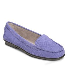 Look at this #zulilyfind! Periwinkle Nu Day Leather Loafer by Aerosoles #zulilyfinds