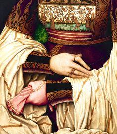 Bianca Maria Sforza (detail)   Bernhard Strigel   1505-10 Retratos, Pinturas, Fotos Pintura, Trajes De Época, Arte Antiguo, Manos Y Pies, Historia Del Arte, Ilustraciones, Artistas