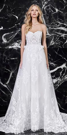 Wedding Dresses 2018 From Top Designers ★ See more: https://weddingdressesguide.com/wedding-dresses-2018/ #nails