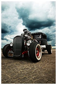 Blown dry lake '32 Ford Coupe                                                                                                                                                                                 Mais