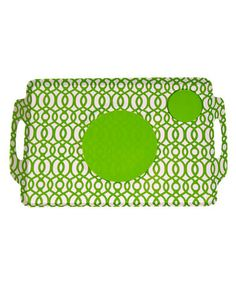 Take a look at this Lappers Trellis Dining Tray by Patio Party: Entertaining Essentials on #zulily today!