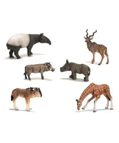 Take a look at this Wild Animal Figurine Set by Schleich on #zulily today!
