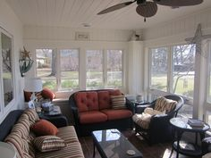 Check out these porch remodel jobs we completed. Whatever your style, call us and we can help!