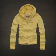 yellow hoodie from  hollisterco.com $18