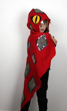 Snake Costume Cape Childrens fancy dress by sparrowandbcostumery
