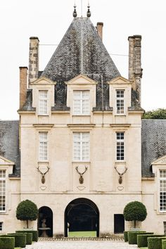 At Home With: Hubert de Givenchy, Château du Jonchet, France