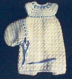 Unisex Burial Gown free crochet pattern