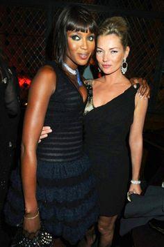 Naomi Campbell & Kate Moss