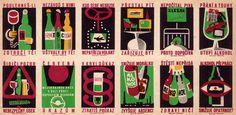 Anti-alcohol Campaign, Matchbox Series, 1967
