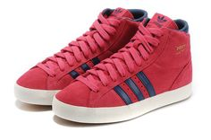 new arrival 65659 3c859 Adidas rojo Armada Trainers mujer Basket Profi High Tops Zapatos G95658  CALIENTE!
