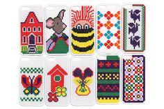 北欧デザインのiPhoneケースを刺しゅうで作ってみよう | roomie(ルーミー)