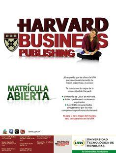 #UTH La única universidad en #Honduras que te ofrece la Metodología de Casos de la prestigiosa universidad de #Harvard