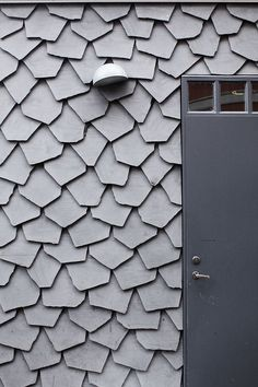 Iceland : Iceland, photo by Simon Oud Interior Walls, Home Interior, Interior And Exterior, Inspire Me Home Decor, Tile Patterns, Textures Patterns, Exterior Cladding, Building Exterior, Facade Architecture