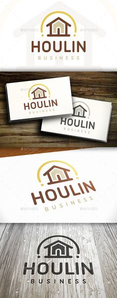 House Line Logo — Vector EPS #town #royal • Available here → https://graphicriver.net/item/house-line-logo/10550156?ref=pxcr