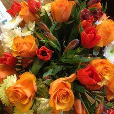 Orange Flowers for The Bell