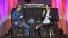 Penn Jillette talks about his life growing up in the entertainment business at Mobile Beat Las Vegas 2015