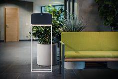 Outdoor Chairs, Outdoor Furniture, Outdoor Decor, Sonos Play 5, Speaker Stands, Minimalist Design, Home Decor, Minimal Design, Decoration Home