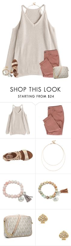 """""""school stinkssssss"""" by elliegracee ❤ liked on Polyvore featuring Söfft, Sole Society, Michael Kors, Kate Spade and Kendra Scott"""