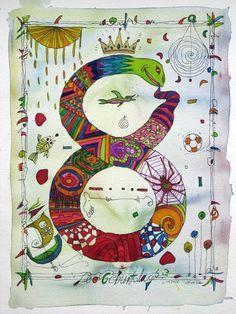Pinzellades al món: Números i art / Números y arte / Numbers and art