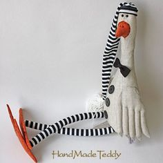 Fabric Toys, Fabric Birds, Fabric Crafts, Softies, Amigurumi Toys, Mouse Crafts, Sewing Toys, Felt Toys, Soft Sculpture