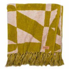 Old Spice + Mauve + Olive Bath Towel - Kip - Co SS14 Collection  - Bed - Bath