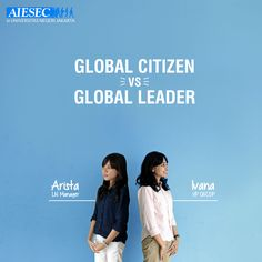 What's the difference between global citizen and global leader program? #AIESEC