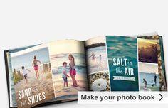 Photo Books | Make a Photo Book | Personalized Photo Books | Snapfish