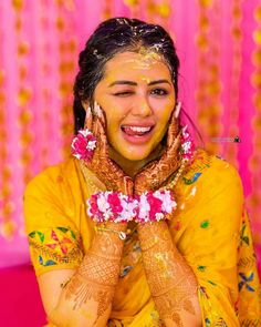Indian Bride Poses, Indian Wedding Poses, Indian Wedding Couple Photography, Indian Bridal Photos, Bride Photography, Haldi Ceremony, Bridal Photoshoot, Manish, Mehendi