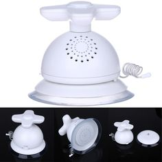 AM FM Waterproof Bathroom Shower Radio Suction Cup White 9 *12 * 10cm - INNOVATIVE PRODUCTS PORTAL - MyProductPortal.com