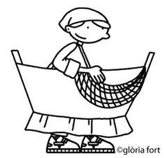 Ball de pescadors, Festa Major_Vilanova i la Geltrú | glòria fort _ illustration