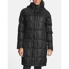 North Face Metropolis Long Black Winter Coat Med. Women's quilted black metropolis north face jacket. Great for winter. I just never used it. Wore once to a Packer game. Excellent condition size medium North Face Jackets & Coats