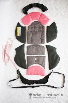 I'm considering trying this... Recovering a Baby Car Seat | Make It and Love It