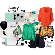 A fashion float!
