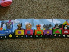 felt quiet book train-Adventures of a Stay at Home Mom