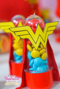 Pin on Beauty Pin on Beauty Wonder Woman Birthday, Wonder Woman Party, Diy Superhero Costume, Superhero Party, Geek Party, Diy Party, Unicorn Birthday Parties, Birthday Party Decorations, Superman Baby