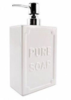 Home and Garden Pure Soap, Soap Dispenser, Home And Garden, Pure Products, Bathroom, Soap Dispenser Pump, Washroom, Full Bath, Bath