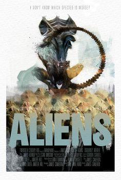 pretty awesome  Aliens by Mark Schilder
