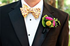 Colorful #boutonniere