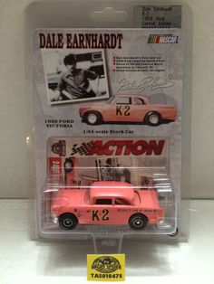 (TAS010475) - Action Racing - 1:64 Scale 1956 Ford Victoria Stock Car - Dale Earnhardt