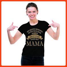 Damen T-Shirt schwarz Modell: Mama