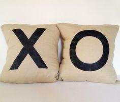 X & O Pillows