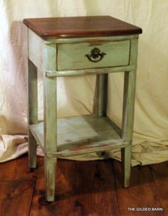 The Gilded Barn nightstands
